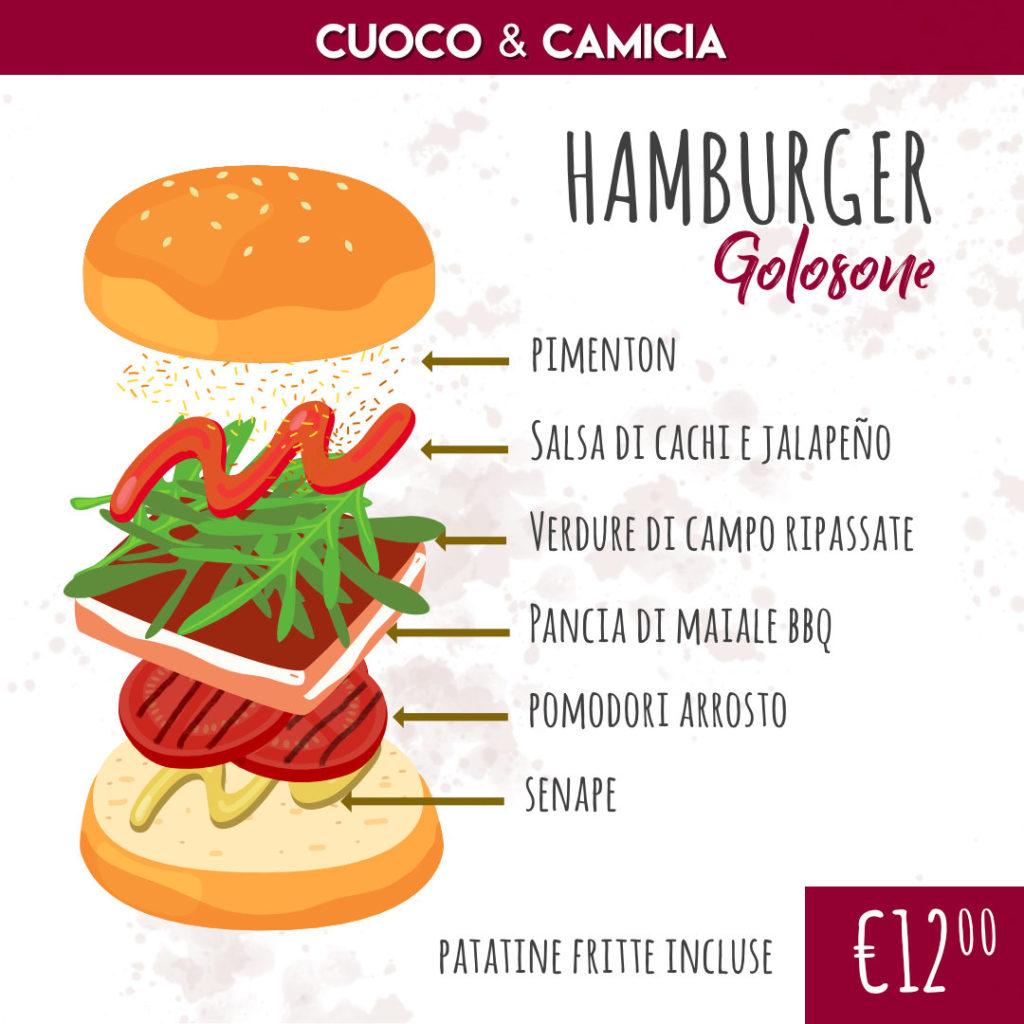 Hamburger Golosone